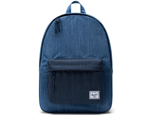 Herschel Classic Sac à dos 24L, faded denim/indigo denim